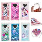Painted Floating Quicksand Drop Protection Non-slip Grip Soft Cover For Samsung