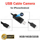 samsung camera usb cable - Hidden Spy Camera USB Cable Fast Charging Phone Cable For Samsung Android iPhone