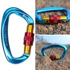 Camping Hiking Lock Carabiner Safety Buckle For Rock Climbing Outdoor Sports US