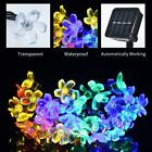 Solar Powered 30 Led String Fairy Lights Garden Outdoor Xmas Party Decor Lamp
