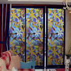 2D Static Cling Frosted Stained Flower Glass Window Film Sticker Privacy Decor