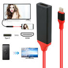 USB-C Type-C to HDMI HDTV AV TV Adapter Cable For Samsung S9 S8 Note 9 8 MacBook