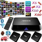 LOT 1~50X M8S 2+8G Octa core Android 4.4 nougat Amlogic S812 TV BOX Dual WIFI BT