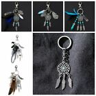 US Mini Retro Metal Dream Catcher Key Chain Hanging Car/Home Decor Craft Gifts