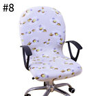New Swivel Chair Cover Stretch Study Room Office Armchair Protective Seat Cover