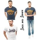 Summer+BRAND+JACK+AND+JONES+Mens+Clements+T-Shirt+White+And+black