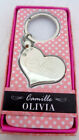 Personalized Custom Name Keychains Camille + Gift Box