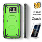 For Samsung Galaxy S7 Edge S6 S7 S8 Note 8 S9 Plus Case Hybrid Shockproof Cover