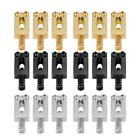 6Pcs Metal Saddle + 1Pc Wrench For Electric Guitar Bridge Gold/Silver/Black