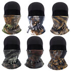 Winter Camouflage Hood Hat Thermal Fleece Face Mask Neck Warmer Balaclava Cover