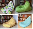 Bean Bag Covers in/ OUTDOOR WATERPROOF, LARGE size UV/Mould Resistant, Colourful
