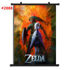 "Anime The Legend of Zelda manga Wall Scroll Poster cosplay8""x11"" A"