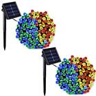 200 LED Solar Power Fairy Light String Lamp Party Xmas Garden Outdoor Decor Lamp