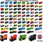 The Tank Engine Tender Wooden Magnetic Railway Train Toys Truck Car Kids Gifts