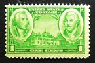 785 MNH 1936 1c George Washington Nathanael Greene Army Mount Vernon Nathaniel