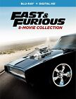 Fast and Furious 8-Movie Collection (Blu-ray + Digital HD) BRAND NEW