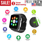 Bluetooth Smart Watch Wrist Waterproof  SIM GPRS Phone Mate for Android IOS iPho
