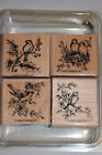 Stampin Up Stamp Sets, Retired, Wood Blocks, Complete Sets, You Pick, New & Used