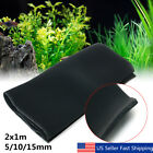 2x1mx5/10/15mm Biological Cotton Filter Foam Pond Aquarium Fish Tank Sponge Pad