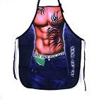 Sexy Funny Men Cooking Apron Creative Waterproof Kitchen Restaurant Bib Home Use