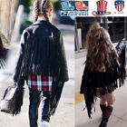 Cool Baby Girls PU Leather Jackets Children Tassel Outerwear Fashion  Clothing