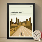 THE WALKING DEAD Alternative Minimal Television Poster