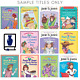TEN-PACK BUNDLE/LOT OF JUNIE B JONES BOOKS~Homeschool Library Children's Chapter