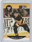 1990 1991 Pro Set #632 Jaromir Jagr Pitttsburgh Penguins Rookie Hockey Card