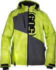 509 Mens Lime/Grey Evolve Non-Insulated Snowmobile Jacket Snocross