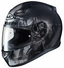 HJC Adult Black/Grey CL-17 Arica Motorcycle Full Face Helmet Snell DOT
