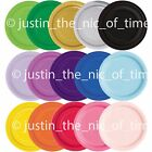 """16x ROUND 9"""" Paper CAKE PLATES 23cm Plain Catering Birthday Party Tableware"""