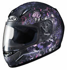 HJC Pink/Purple/Black CL-Y Vela Full Face Motorcycle Helmet DOT