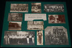 """Vintage 1900's Small Photos Mounted on Contemporary Matte/""""East Madison House"""""""
