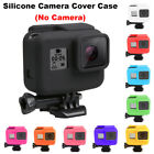 For Go pro Hero 5 Black Side Frame Soft Silicone Protective Housing Case Cover