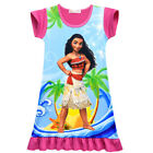 Dress For Girls Kids Moana Cosplay Costume Atlantic Ocean Princess Short Sleeve