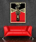Protect Yourself - Obey Giant Shepard Fairey Canvas Print  Hope