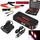 Portable 82800mAh Car Jump Starter Power Bank Pack Charger Booster Battery SOS B