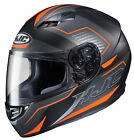 HJC Orange/Black/Grey CS-R3 Trion Full Face Motorcycle Helmet DOT Entry-Level