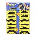 Mustache party 12 Fake mustaches  great fun, USA seller