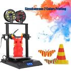 Creality CR-X 3D Printer Metal Extruder Dual-Color 4.3'' Touch Screen PLA ABS LJ