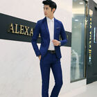 Custom Made Men's Slim Fit Suit Business Formal Party Tuxedos Jacket + Pants NEW