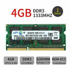 For Samsung 4GB / 2G PC3-10600S DDR3 1333mhz 204Pin SODIMM Laptop RAM Memory LOT