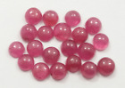 5.85 Ct Natural Burma Untreated Ruby Round Cabochon pies20 Loose Gemstone  R-21