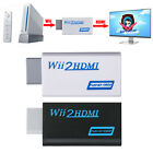 Wii to HDMI Wii2HDMI Full HD 1080P/720P Converter Upscaling Adapter Audio