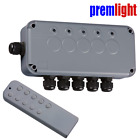 REMOTE CONTROL OUTDOOR WEATHERPROOF IP66 3 Gang or 5 Gang SWITCHING BOX IP665G