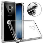For Samsung Galaxy A3 A5 A7 2017 A6 A8 2018 Soft Silicone Clear Thin Case Cover