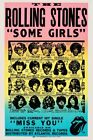 THE ROLLING STONES - 'Some Girls' Original Concert Poster Giclee Print