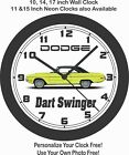 1970 DODGE DART SWINGER WALL CLOCK-FREE USA SHIP, FORD, CHEVROLET, PLYMOUTH $41.99 USD on eBay