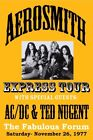 AEROSMITH - Los Angeles Forum 1977 Original Concert Poster Giclee Print