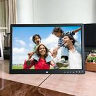 Digital Photo Frame 17 Inches Front Touch Buttons Multi-language LED Screen YZ